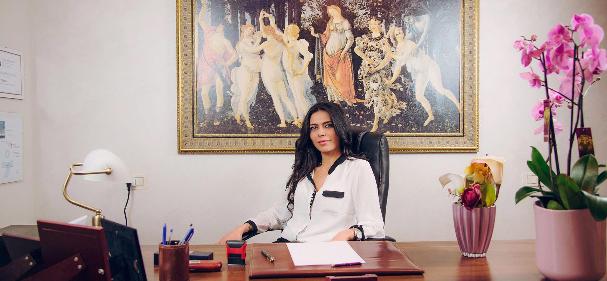 Benvenuti nel sito della <span>Dott. ssa Dina Helou</span>
